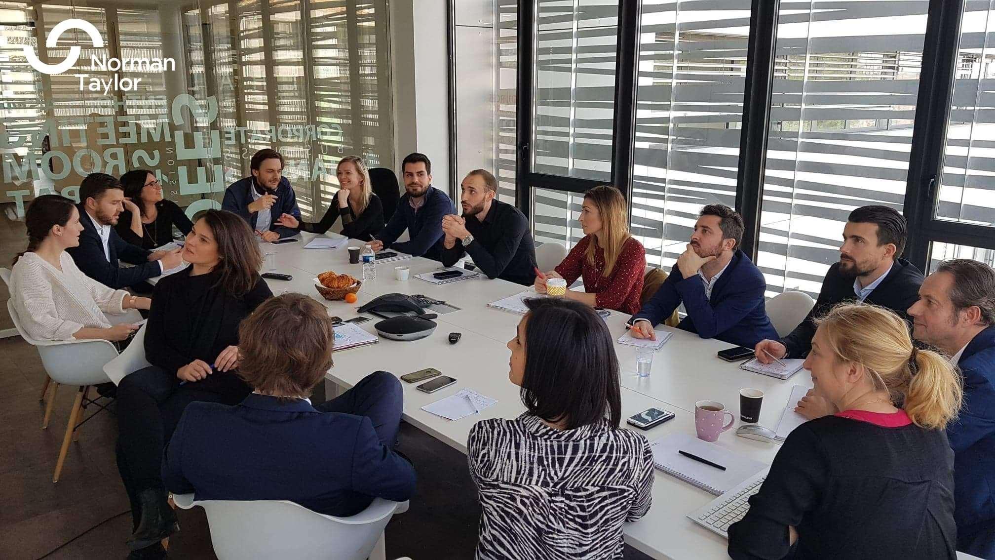Notre équipe Montpelliéraine focus en pleine réunion !